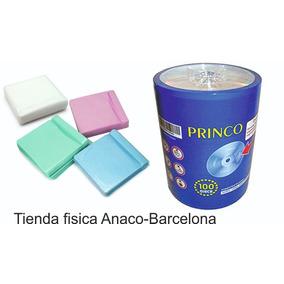 Cd Virgen Princo Paquete De 100 52x 700mb Capacidad + Funda