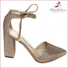 02b183d190 Sapatos Femininos Scarpin Colcci - Sapatos Dourado escuro no Mercado ...
