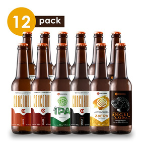 Cerveza Artesanal Concordia Cervexxa Beerpack 12