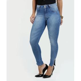 Calça Feminina Skinny Jeans Puídos Biotipo - Calças dc49b100b7a