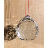 Esferas Cristal Facetada Feng Shui Armonizar La Energia 5 Cm