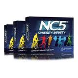 Kit 3 Caixas Nc5 Synergy Infinity - Endurox Excel - Energia