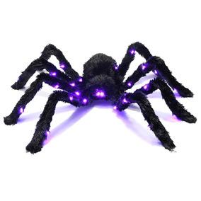 Tarantula Luces Led Para Decoracion Fiesta Halloween Prextex 177e5d5fb46