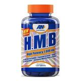 Hmb 1000mg 120 Tabs - Arnold Nutrition Usa Original