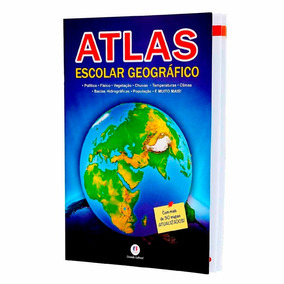 Atlas Escolar Geográfico + De 30 Mapas Lista Escolar