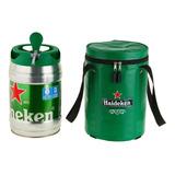 Bolsa Térmica Para Barril De Chopp Heineken 5 Litros