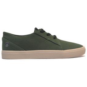 Zapatillas Mujer Volcom Lo Fi Green