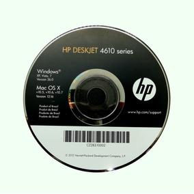 Cd De Instalação Para Impressora Hp Deskjet 4610