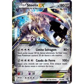 Steelix Ex Carta Pokemon Cerco De Vapor Em Português 67/114.