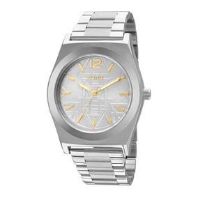 Relógio Feminino Euro Premium Tribal Eu2036ji/3k Prata