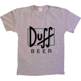 Camisetas Séries Simpsons - Duff Beer - 100% Algodão! 34a29fc074719