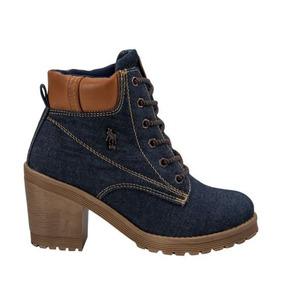 Botas Marca Polo Para Mujer - Zapatos Azul marino en Mercado Libre ... c1485e57d203a