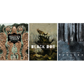 Kit Darkside - Paraíso Perdido + Black Dogs + Wytches
