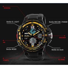 Relógio Skmei G Militar Do Exército - Prova D Aguá