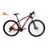 Bicicleta Aro 29 Oggi Agile Sport Fibra Carbono 21 Deore 20v