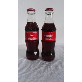 2 Botellas Coca Cola Llena Con El Nombre De Fer-nando e0c4f29a0d7