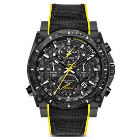 Nuevo Reloj Bulova Precisionist Original Para Hombre 98b312