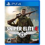Sniper Elite 4 - Ps4 - Digital - Manvicio Store