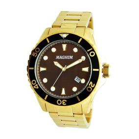 f50554c4500 Relógio Magnum 10 Atm De Luxo - Relógios De Pulso no Mercado Livre ...