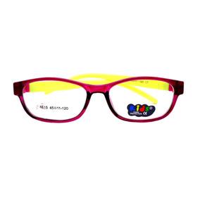 Armação Colorida Infantil Criança Óculos Lentes De Grau 8815 8f45ba2d1b