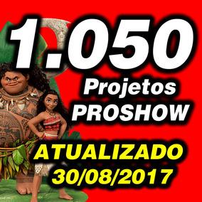Projetos Proshow - Super Mega Pacotão Atualizado 2017