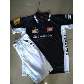 Bermuda Jeans +camisa De Malha 12x Sem Juros