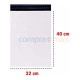 Kit 300 Envelope Plástico Segurança Lacre Correios 32x40