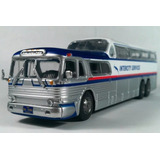 Greyhound - Eeuu - Autobuses Del Mundo Colectivos 1/72