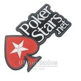 Pok007 Poker Stars Jogo Escudo Símbolo Tag Patch Br Bordados