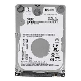 Hd 500gb Para Notebook Dell Sata Ii Western Digital