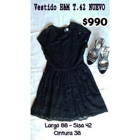 Divino Vestido De Guipur Negro - Ropa y Accesorios en Mercado Libre ... a44b556971a1