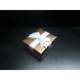 Caixa De Presente Para Brincos E Jóias 8x7x3,7cm