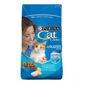 Alimento Para Gato Cat Chow Pescados Y Mariscos 20 Kg.