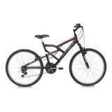 Bicicleta Aro 26 Mormaii Full Fa 240 Suspension 18vel