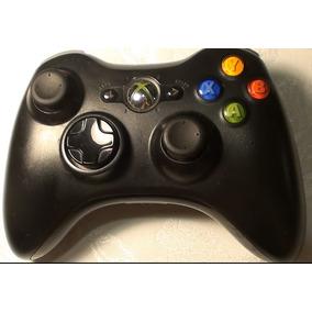 Controle Xbox 360 Wireless Preto Seminovo Original Microsoft