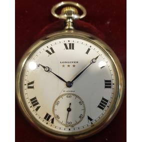 Reloj Longines De Bolsillo Open Face Níckel Ral