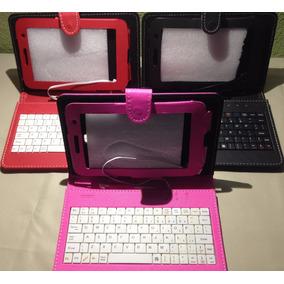 Capa Samsung Galaxy Tab 3 Com Teclado P3200 P3210
