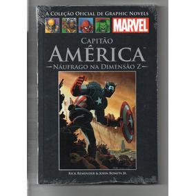 Coleção Hq Graphic Novels Marvel Ed 134 Capitão America