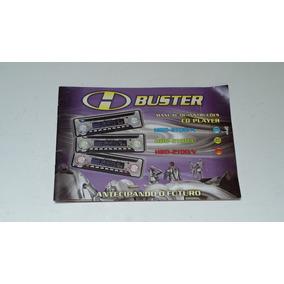 Manual Instruções Cd Player H Buster Hbd 2100/a 2100/l 2100/