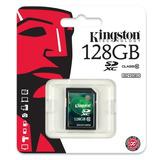 Kingston® Sd Xc 128 Gb Clase 10 Hd Video Canon Nikon Alpha