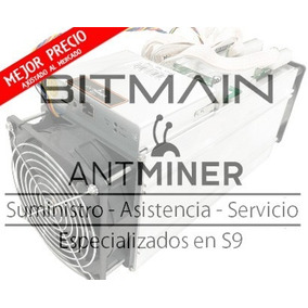 Antminer S9 .i 14th/s Bitmain + Fuente 1800w + Cable