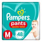 Pañales Pampers Pants Ajuste Total - Todos Los Talles