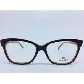 c649b6dd59736 Armação Bulget Armacoes - Óculos no Mercado Livre Brasil