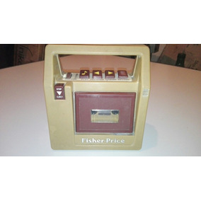Antiguo Radio Grabador Para Niños Fisher Price