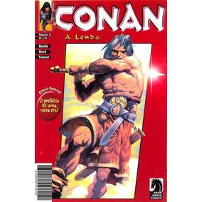 Livro Encadernadao Conan, A Lenda 51 Revistas Coloridas