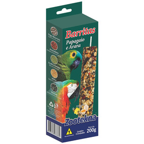 Barritas Zootekna Para Papagaios - 200g