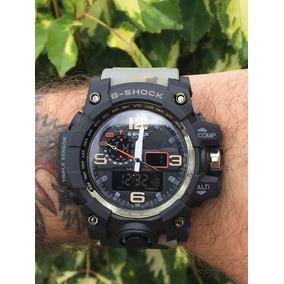c35a6b39bbf G Shock Camuflado Vermelho Original - Relógios no Mercado Livre Brasil