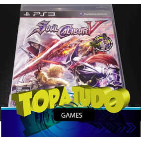 Soul Calibur V Jogo Playstation 3 Ps3 Seminovo Loja Bh