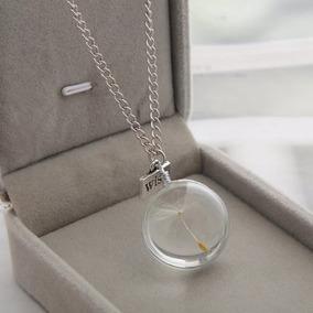 Collar Diente De Leon/esfera/dandelion