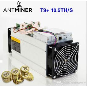 Antminer Bitmain T9+ 10,5 Th (nuevas) + Fuente + Cable 15a
